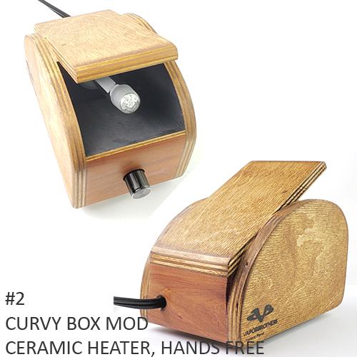 2) Curvy Box Mod, Hands-Free