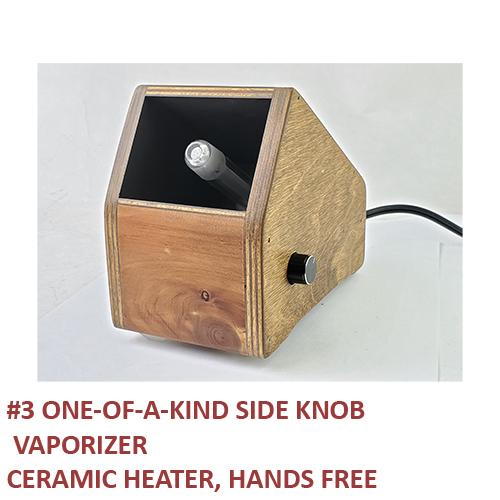 3) Side Knob, Hands-Free