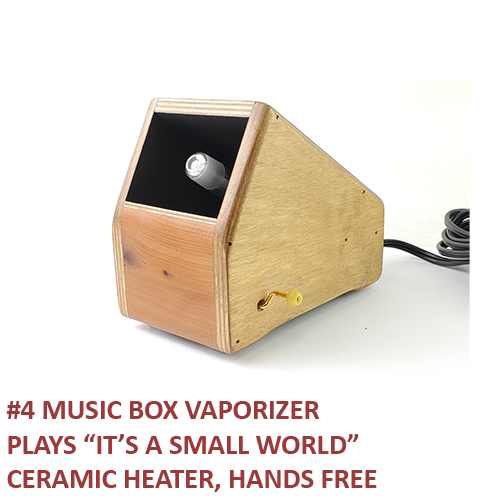 4) Music Box Vaporizer, It